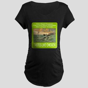 LOCH NESS/NESSIE Maternity Dark T-Shirt