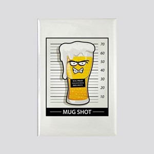"""Mug Shot"" Rectangle Magnet"