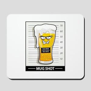 """""""Mug Shot"""" Mousepad"""