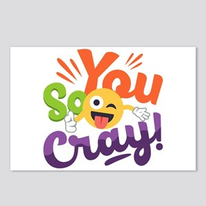 You so Cray Postcards (Package of 8)