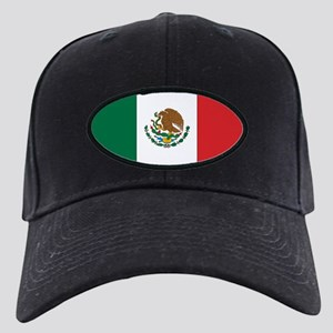 Mexican Flag Black Cap