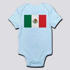 Mexican Flag Infant Creeper