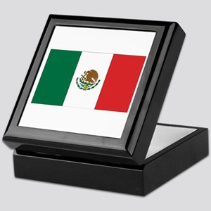 Mexican Flag Keepsake Box