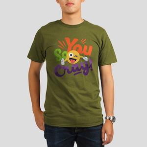 You so Cray Organic Men's T-Shirt (dark)