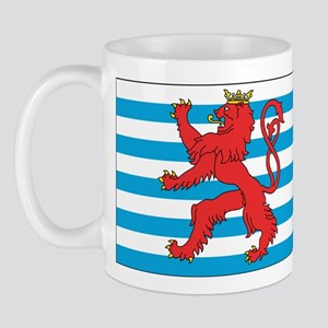 Luxembourg Civil Ensign Mug