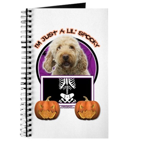 Just a Lil Spooky GoldenDoodle Journal