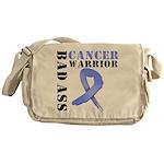 Esophageal Cancer Warrior Messenger Bag