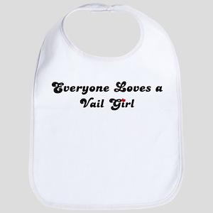 Loves Vail Girl Bib