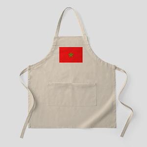 Moroccan Flag BBQ Apron