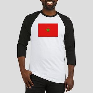 Moroccan Flag Baseball Jersey