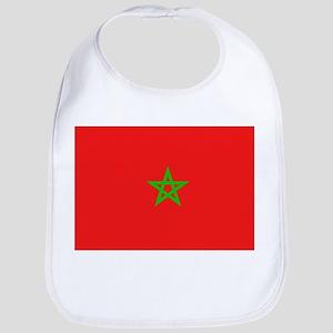 Moroccan Flag Bib