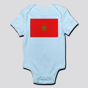 Moroccan Flag Infant Creeper
