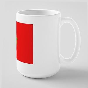 Moroccan Flag Large Mug