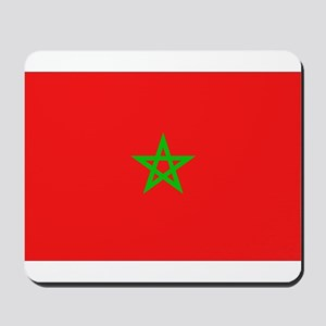 Moroccan Flag Mousepad