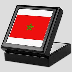 Moroccan Flag Keepsake Box
