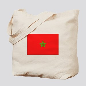 Moroccan Flag Tote Bag