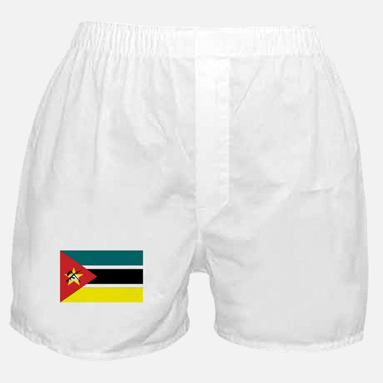 Mozambique Flag Boxer Shorts