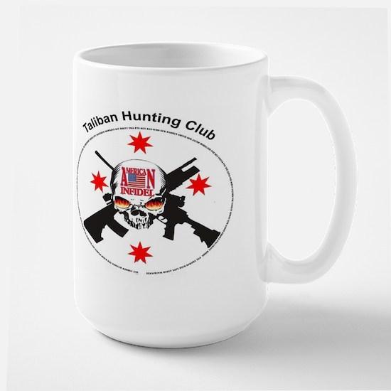 ionfidel taliban hunting club Large Mug
