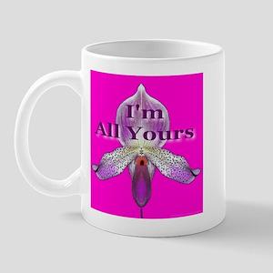 I'm All Yours Georgia Font Mug