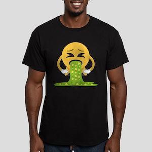 Barf Men's Fitted T-Shirt (dark)