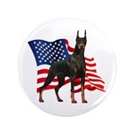 American Flag Doberman 3.5