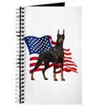 American Flag Doberman Journal