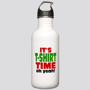 Oh Yeah Tee Shirt Time Stainless Water Bottle 1.0L