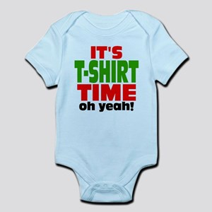 Oh Yeah Tee Shirt Time Infant Bodysuit
