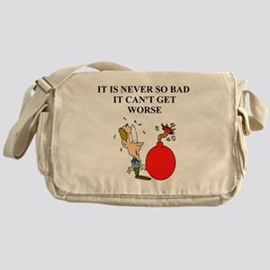 jewish humor gifts and t-shir Messenger Bag