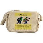 umpire t-shirts presents Messenger Bag
