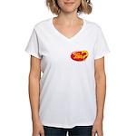What Jobs Women's V-Neck T-Shirt