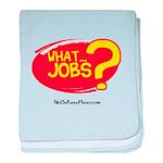 What Jobs baby blanket