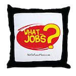 What Jobs Throw Pillow