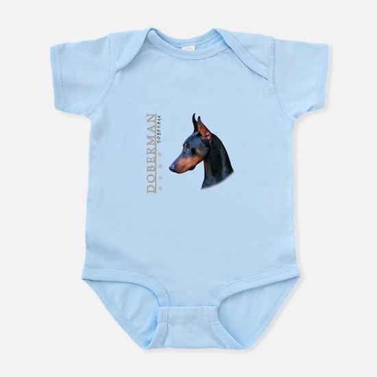 Doberman Infant Bodysuit