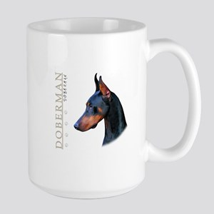 Doberman Large Mug