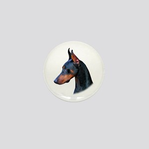 Doberman Mini Button