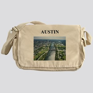 austin gifts and t-shirts! Messenger Bag