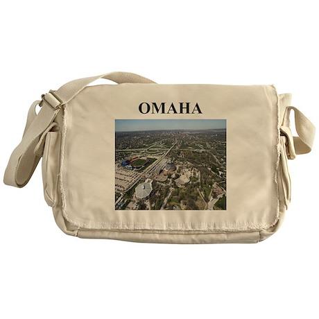 omaha gifts and t-shirts Messenger Bag
