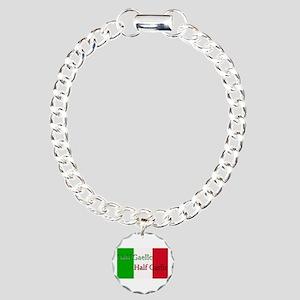 Half Gaelic Garlic Charm Bracelet, One Charm
