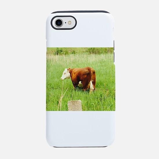 Grazing Cow 4Lena iPhone 7 Tough Case