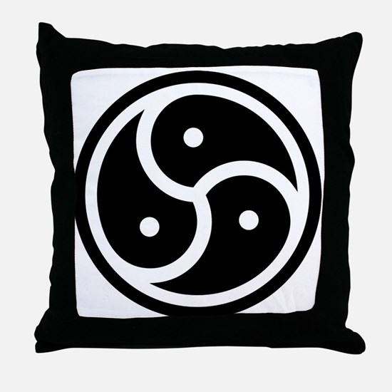 Cute Submission Throw Pillow