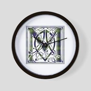 Monogram-MacKenzie htg grn Wall Clock