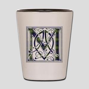Monogram-MacKenzie htg grn Shot Glass