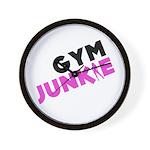 Gym Junkie Wall Clock