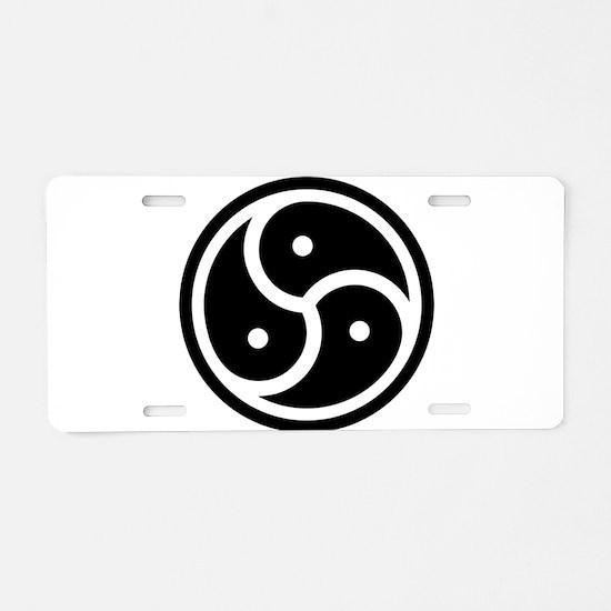 Unique Bdsm Aluminum License Plate
