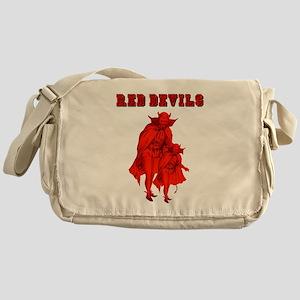 Red Devils Messenger Bag
