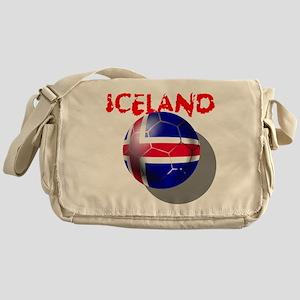 Icelandic Soccer Messenger Bag