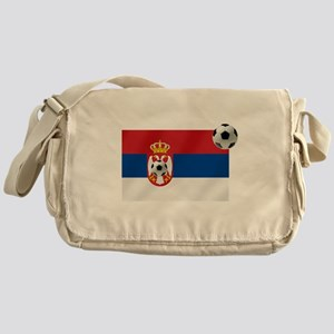 Serbian Football Flag Messenger Bag