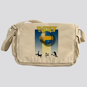 Swedish Football Messenger Bag