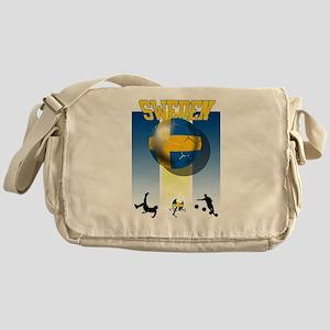 Swedish Football Messenger Bag